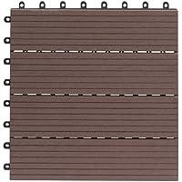 EVERFLOOR WPC 4600-1000-003 - Baldosas de patio perfil