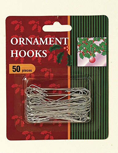 50pk Jumbo Ornament Hook GERSON DOMESTIC
