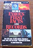 Famous First Facts, Joseph N. Kane, 0824200152