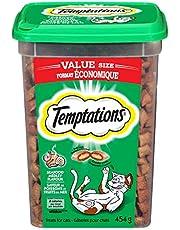 Temptations Cat Treats, Seafood Medley Flavour, 454g Tub