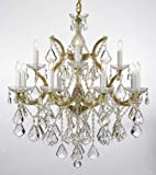 Maria Theresa Chandelier Lighting Crystal Chandeliers H30 X W28 Trimmed with Spectra Crystal – Reliable Crystal Quality By Swarovski Review