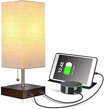 Lámpara de mesa USB / lámpara de mesa de noche USB, lámpara de ...