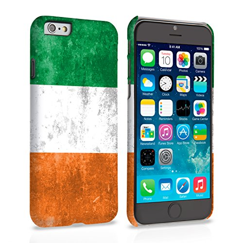 Caseflex iPhone 6 / 6S Hülle Retro Irland Flagge Hart Schutzhülle