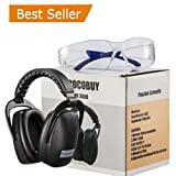 Shooting Safety Earmuffs,Hearing Ear Protection Adjustable Ear Defenders Protect Adults& Kids Ears, Perfect for Studying,Flight Sleeping,Shooting Range,Construction,Live Concert,Great Gift