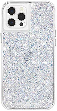 Case-Mate - Twinkle - Case for iPhone 12 Pro Max (5G) - 10 ft Drop Protection - 6.7 Inch - Stardust