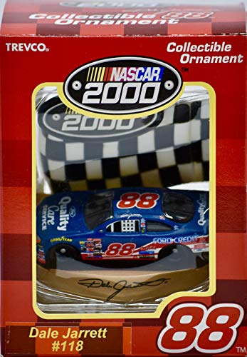 2000 - NASCAR - Dale Jarrett #88 - Ford Taurus - Christmas Ornament - OOP - Collectible - New
