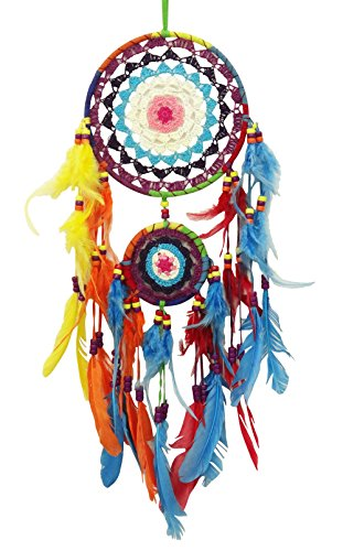 SuSvapnaah Boho Dream Catcher Multicolor  Ring Dreamcatcher