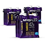 EAS Myoplex Shred Caffeinated Protein Shake, 42 Grams of Protein, Muscle Mocha, 16 ounces, 12 count