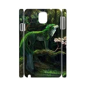 Diy Wolf Animal Phone Case for samsung galaxy note 3 3D Shell Phone JFLIFE(TM) [Pattern-2] Kimberly Kurzendoerfer