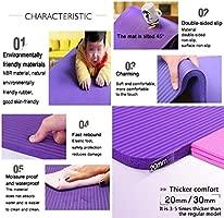 Esterilla de Yoga de 20 mm/30 mm de Grosor, para Pilates ...