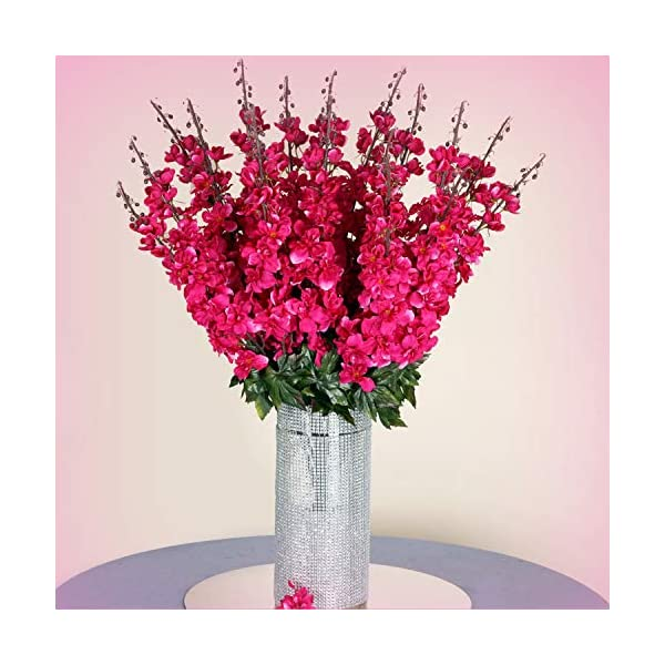 Inna-Wholesale-Art-Crafts-New-18-to-27-Fuchsia-Delphinium-Stems-Filler-Silk-Decorating-Flowers-Bouquet-Decoration-Perfect-for-Any-Wedding-Special-Occasion-or-Home-Office-Dcor