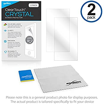 Gionee X1s Screen Protector, BoxWave [ClearTouch Crystal (2-Pack)] HD Film Skin - Shields From Scratches for Gionee X1s