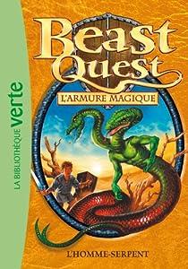 """Afficher """"Beast quest n° 12<br /> L'armure magique"""""""