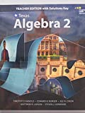 Texas, Algebra 2, Teacher Edition with Solutions Key, 9780544353954, 0544353951 -  Houghton Mifflin Harcourt