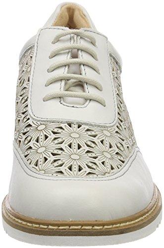 Caprice Kvinder 23504 Oxfords Hvid (hvid Nappa 102) wXID1