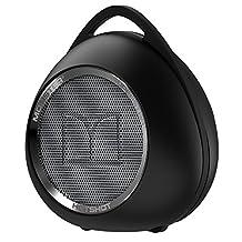 Monster Hotshot Portable Bluetooth Speaker with Carabiner, Black/Black Platinum