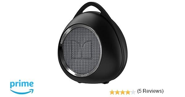 Monster Superstar Hotshot Estéreo Cilindro Negro, Platino: Amazon.es: Electrónica