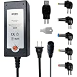 ZOZO™ Universal 36W Regulated 5V-15V Multi-Voltage Switching Power Supply Replacement Charger Adapter Max 2400mA for LCD LED Strips Router HUB HDMI SWITCHER Speaker Micro USB Smart Phone Tablets