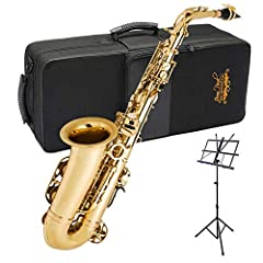 The Jean Paul Premier Series Alto Saxophone is the ideal sax for music students wanting to take their skills to the next level. The AS-600CP offers a serious upgrade from the traditional entry level Alto Saxophones in the marketplace. Its sup...