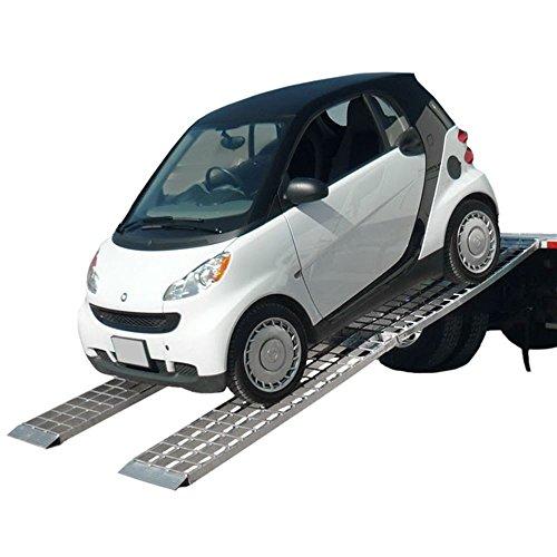 "144"" Big Boy Smart Car RV Trailer Aluminum Loading Ramps"