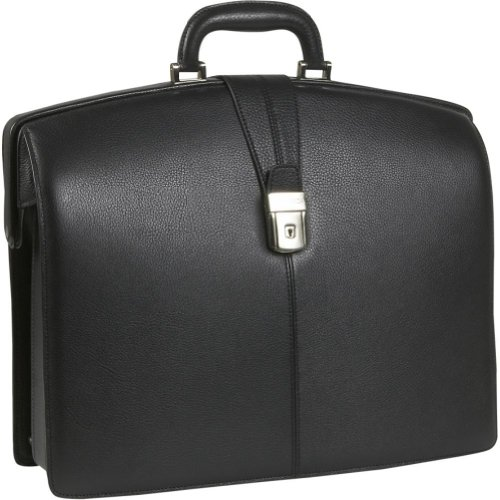 Bosca Old Leather Collection Partners Briefcase (Black)