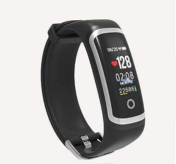04fd55ff4f7f MDHYY Fitness Tracker M4 Impermeable IP67 Presión Arterial Pulsera ...
