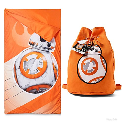 Disney Star Wars BB-8 Kids Sleeping Bag And Sling Sleepover Set