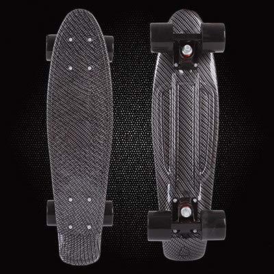 22Inch Leopard Printed Mini Cruiser Skateboard Complete Deck