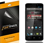 [6-Pack] Supershieldz- Anti-Glare & Anti-Fingerprint (Matte) Screen Protector Shield For ZTE Supreme (Virgin Mobile) + Lifetime Replacements Warranty [6-PACK] - Retail Packaging