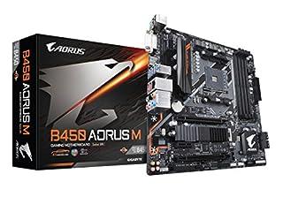 GIGABYTE B450 AORUS M (AMD Ryzen AM4/M.2 Thermal Guard/HDMI/DVI/USB 3.1 Gen 2/DDR4/Micro ATX/Motherboard) (B07FWY246F) | Amazon Products