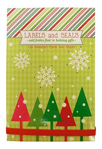 The Gift Wrap Company Label and Seal Sticker Book, Joy