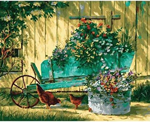 Puzzles Para Adultos 1000 Piezas 3D Carretilla Con Flores Bodegón Cuadros Decorativos Pintados A Mano Para Sala De Estar Personalizado De Madera Montaje Rompecabezas Divertido