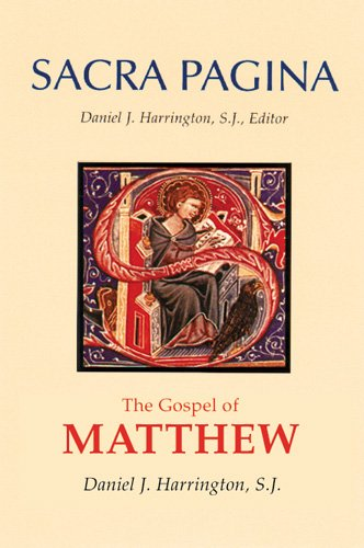 The Gospel of Matthew (Sacra Pagina Series, Vol 1)