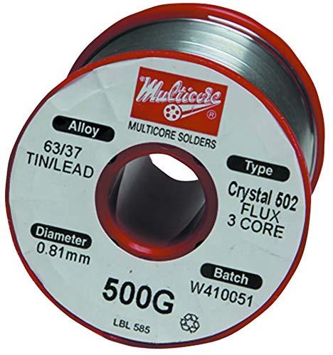 MULTICORE/LOCTITE MM00975 Solder Wire, 63/37, 0.022