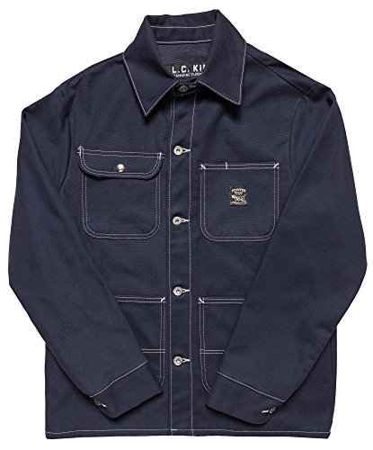 Pointer Brand Navy Duck Chore Coat L-TALL Navy by Pointer