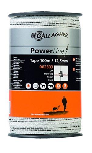 PowerLine Breitband 12,5mm 100m weiß: Amazon.de: Haustier