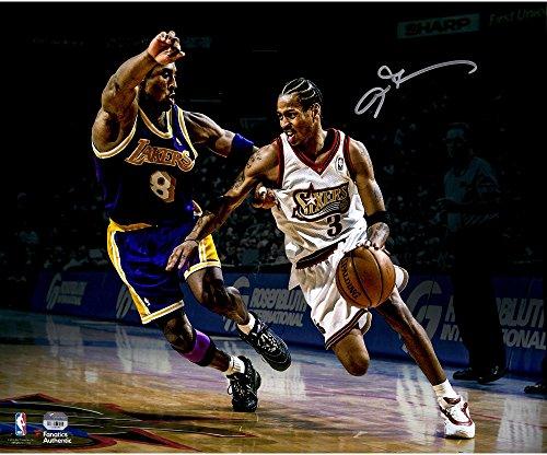 Allen Iverson Philadelphia 76ers Autographed 16