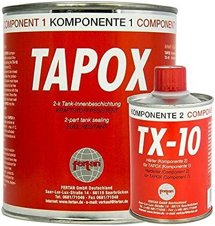 Fertan 24501 Tapox 2 K Beschichtung Rot Auto