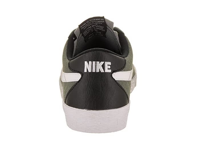 c2b996d9bb8e Nike Men s SB Bruin Zoom PRM SE Tumbled Grey White White Black Skate Shoe  8. 5 Men US  Buy Online at Low Prices in India - Amazon.in