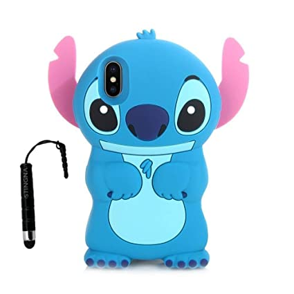 coque iphone xs silicone stitch