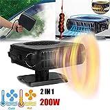 MSOO 200W 12V Car Truck Auto Heater Hot Cool Fan Windscreen Window Demister Defroster
