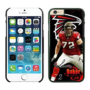 Atlanta Falcons Sam Baker iPhone 6 Cases Black 4.7 inches63332_53321 best cover for iphone 6