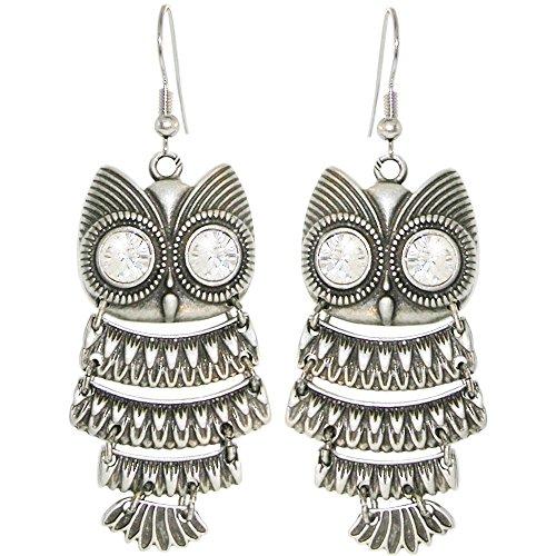 Owl Earrings - 2
