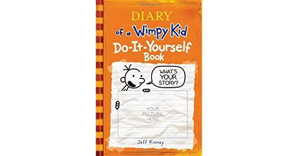 Diary of a wimpy kid do it yourself book jeff kinney amazon diary of a wimpy kid do it yourself book jeff kinney amazon libros solutioingenieria Choice Image