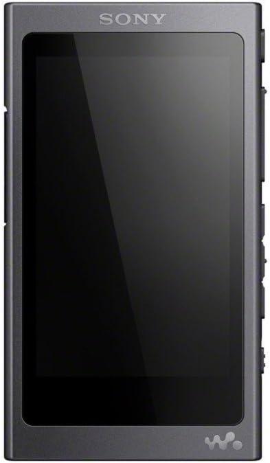 Sony NWA45 - Reproductor de Audio Walkman (16 GB, Hi-Res Audio, DSD, DSEE HX, S-Master HX, NFC, Noise Cancelling Digital, 45 Horas de reproducción de música), Negro grisáceo