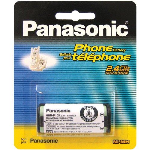 Bateria Original Panasonic HHR P105 p/ Telefono Inalambrico