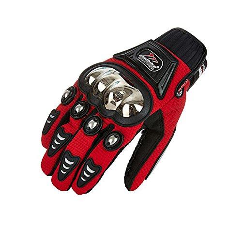 Alloy Steel Bicycle Motorcycle Motorbike Powersports Racing Gloves (X-Large) by AV SUPPLY (Image #1)