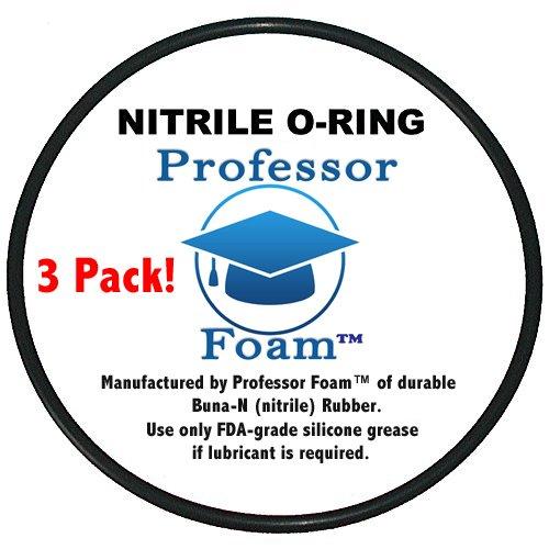 - Professor Foam PF101 Compatible O-rings for Whirlpool WHKF-DWHBB, WHKF-DWHBB & American Plumber W10-PR, Replacement O-rings, Set of 3