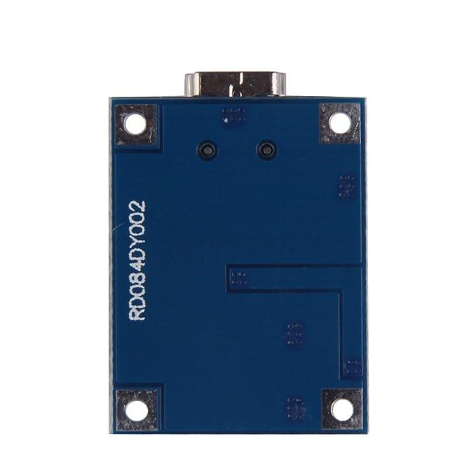 Amazon.com: 5V 1A Mini USB Batería de litio de carga tablero ...