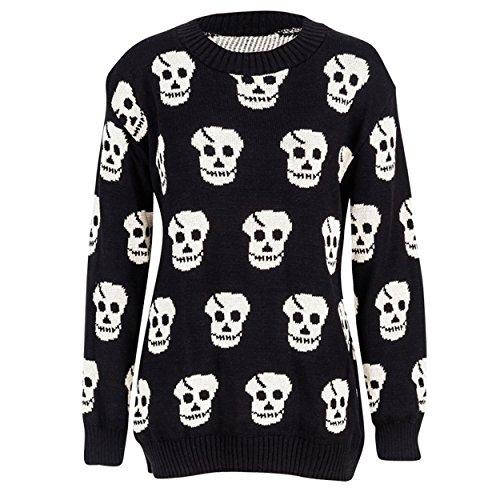 Missmister - Jerséi - para mujer BLACK (Stone Skull)